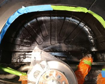 Wheel Well Undercoated