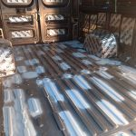 Ram Promaster with OEM flooring removed